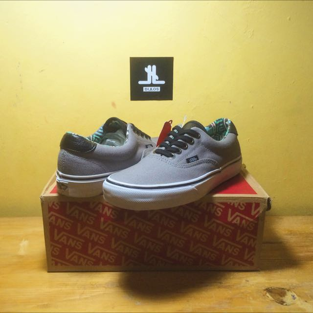 Vans Era 59 Leather Grey