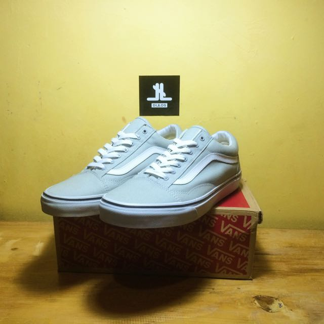 Vans Oldskool Grey True White