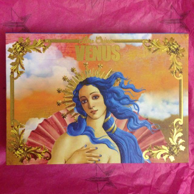 Venus: The Grunge Palette (Lime Crime)