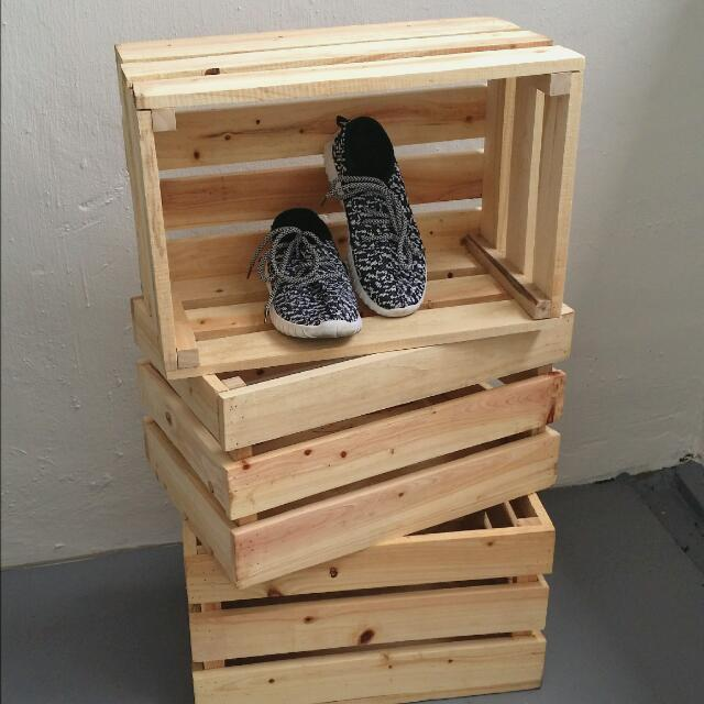 Wooden Crate Wooden Box Wood Decor Furniture Shelves Drawers Awesome Decorating Wooden Boxes