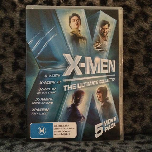 X-Men 5 Movie DVD Pack
