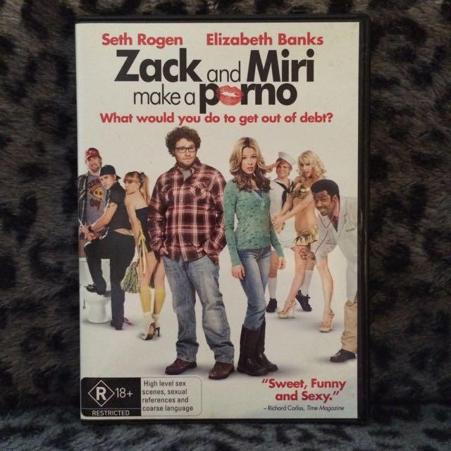 Zach And Miri Make A Porno DVD
