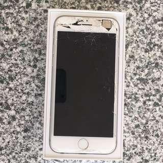 iPhone 6. 64gb. Silver.