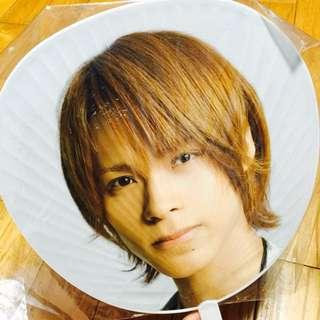 (2入)包郵:KAT-TUN 2010年首次亞洲巡演World Big Tour 團扇