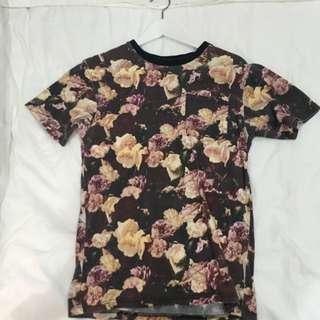 supreme floral top