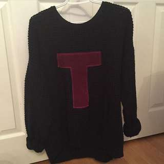 Topshop Oversized Sweater