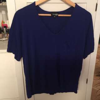 Wilfred Free From Aritzia Blue T