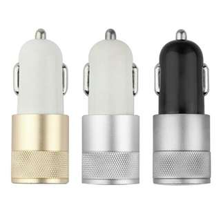 Aluminium Fast Car Charger Universal High Power