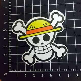 【PVC防水貼紙】海賊王