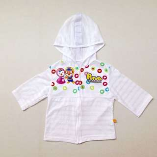 NEW! (LD 32cm) Pororo Official Merchandise Summer Hoodie
