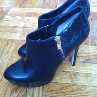 Michael Kors Black Booties 7.5