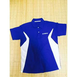 Yamaha深藍短袖polo衫(全新)