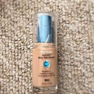 cover girl 3 in 1 foundation