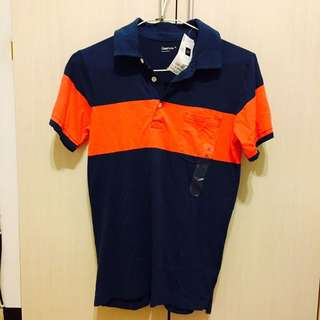 ✌🏻️全新✌🏻️GAP 藍紅相間 短袖T恤