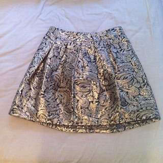 Gold Barouche Skirt from Dotti