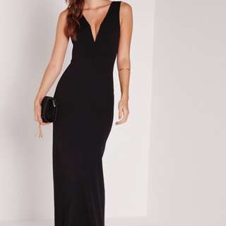Missguided V Plunge Maxi