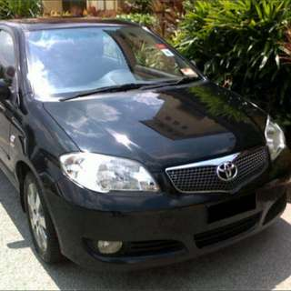 CHEAP CAR $400/W FOR UBER GRAB  TOYOTA VIOS 1.6 AUTO EXCELLENT FUEL ECONOMY