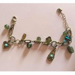 Accessorize charm bracelet