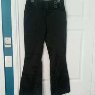 Satin Finish Work Pants