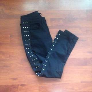 Forever 21 STUDDED PANTS