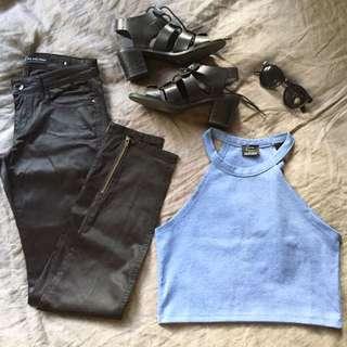 Riders Black Skinny Jeans