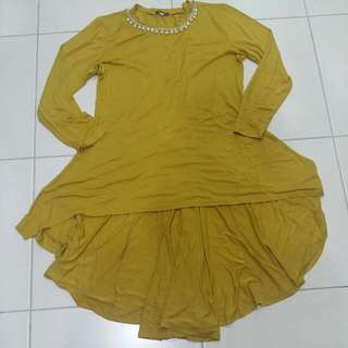 Muslimah Hi-low blouse @ fishtail blouse