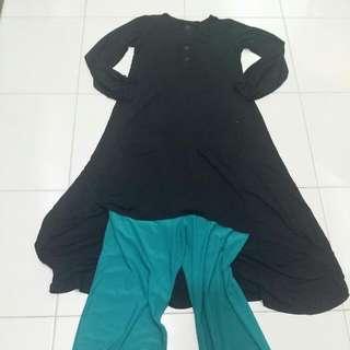 Hi-Low long blouse