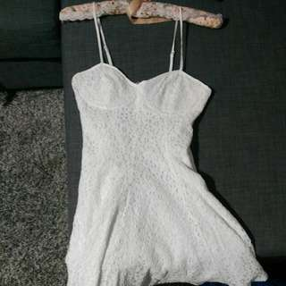 Lace Short Dress Size 8