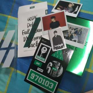 IKON Welcome Back Full Album With Donghyuk Green Welcome Pack