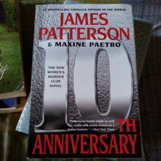 James Patterson English Thriller Novel
