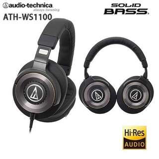 audio-technica 鐵三角耳機 ATH-WS1100