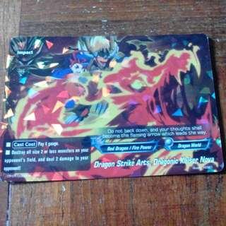 Dragon Strike Art,Buddyfight