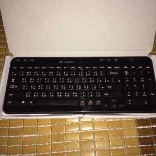 羅技無線鍵盤