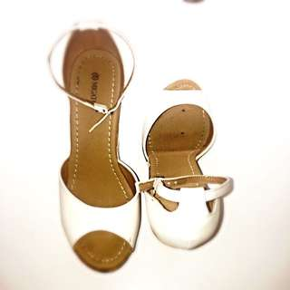 Wedges Heel White Sandal