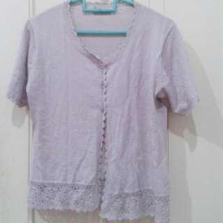 REPRICE baju rajut soft purple (Atasan)