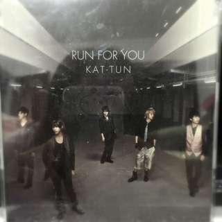 KAT-TUN RUN FOR YOU日版單曲