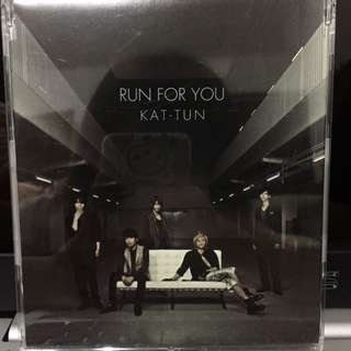 KAT-TUN RUN FOR YOU 日版單曲