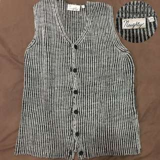 Vintage Cardigan Stripped Outer