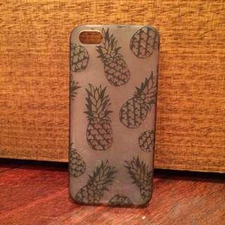 Pineapple Translucent iPhone 5 Case