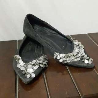 民族風平底鞋
