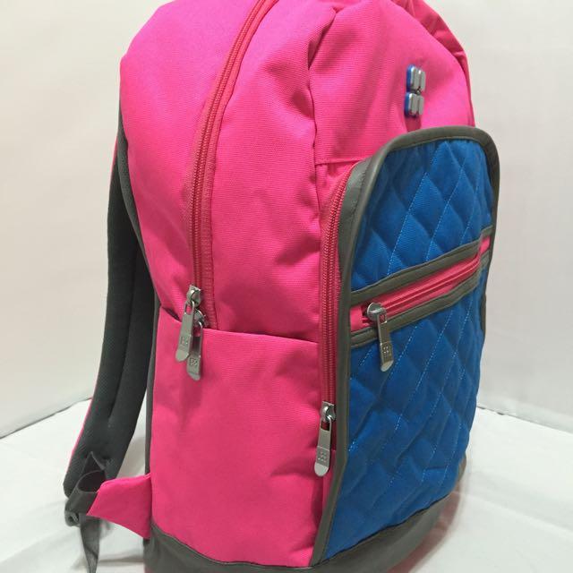 《優惠!20%off》亮麗螢光雙肩包 - Season - 後背包 休閒包 旅遊包