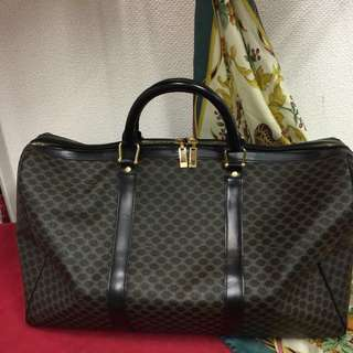 Celine Vintage Travel Bag Authentic