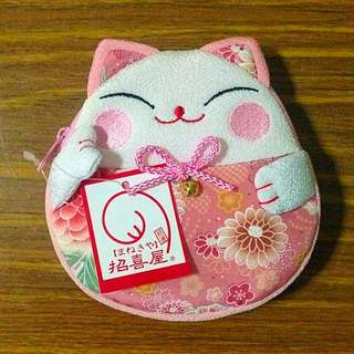 Fortune Cat Pouch