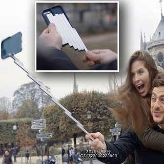 🚚 iPhone 6/6 plus case with self-stick自拍手機殼