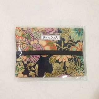 Tissue Paper Pouch/holder From Japan