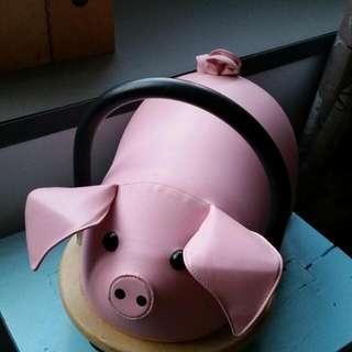 Wheely Bug Pig Ride-on