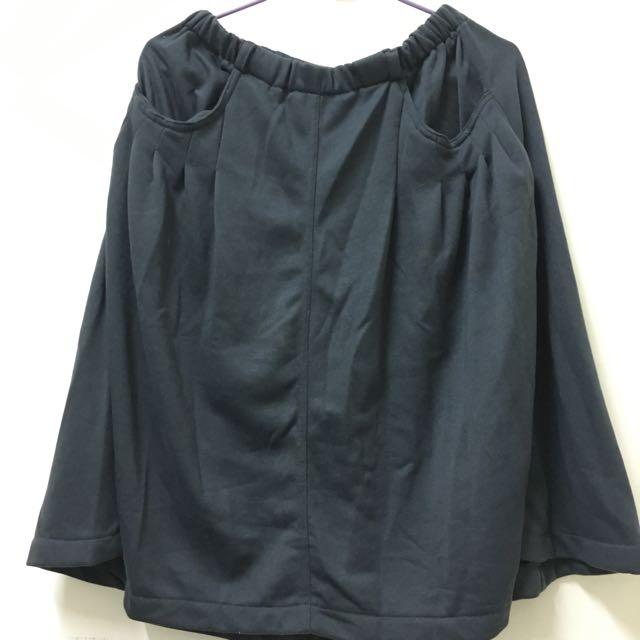 棉質中長裙