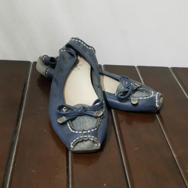 牛皮平底鞋