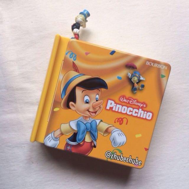 徵求)迪士尼小木偶故事書鐵盒/糖果盒