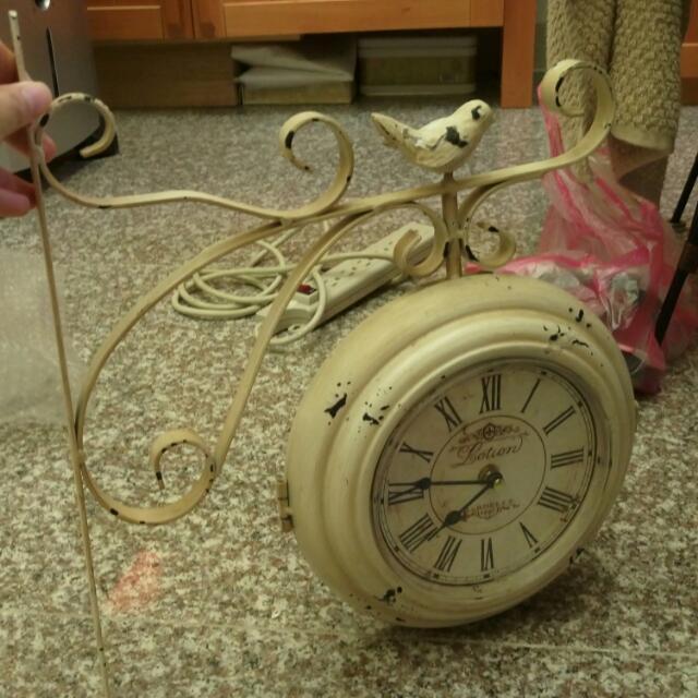 雙面復古時鐘